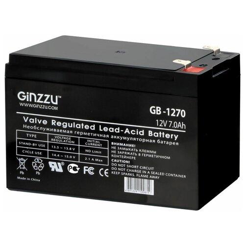 Аккумуляторная батарея Ginzzu GB-1270 7 А·ч