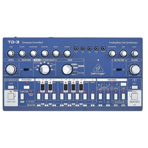 Синтезатор BEHRINGER TD-3-SR blue