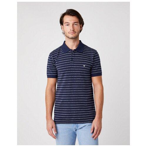 футболка wrangler wrangler wr224emapfw0 Футболка Wrangler W7ALKD114 размер M, navy