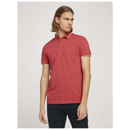 Поло Tom Tailor 1024053 размер L, красный поло tom tailor tom tailor to172emdtmp2