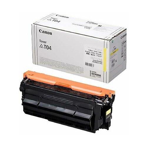 Фото - Картридж Canon T04 Yellow (2977C001) тонер картридж canon t04 b 2980c001