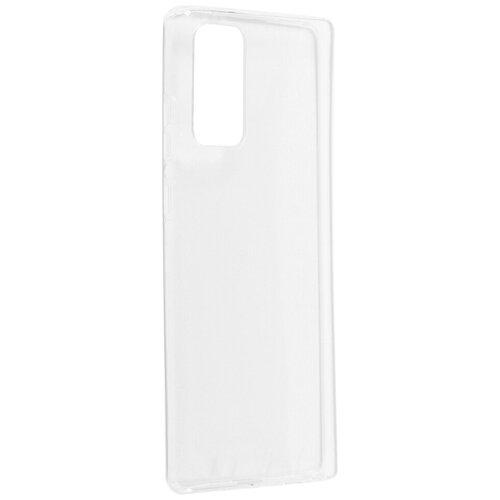 Чехол iBox для Samsung Galaxy Note 20 Crystal Silicone Transparent УТ000021630 чехол ibox для samsung galaxy m21 crystal silicone transparent ут000021234