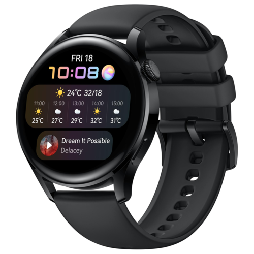 Часы Huawei Watch 3 Active LTE Black