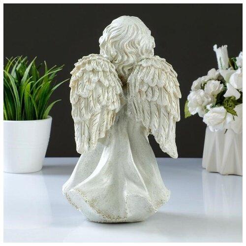 Фигура Ангел стоя 23х14см фигура малышка ангел белая 25х12х12см 4786376