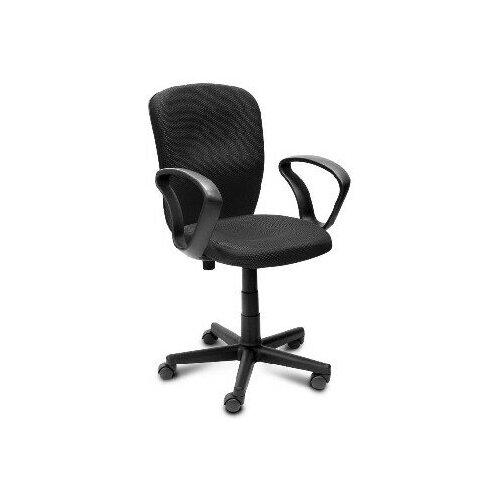 Компьютерные кресла алвест Кресло AV 202 PL (684) ткань 418 черная