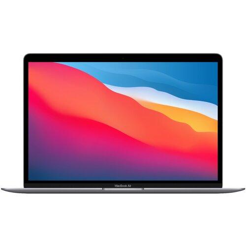 "Ноутбук Apple MacBook Air 13 Late 2020 (Apple M1/13.3""/2560x1600/8GB/256GB SSD/DVD нет/Apple graphics 7-core/Wi-Fi/macOS) MGN63LL/A, серый космос"