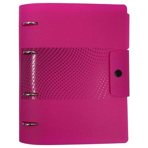 Купить Ежедневник недатированный Attache Digital пластик A5 136 листов розовый (175x220 мм) 1 шт., Ежедневники