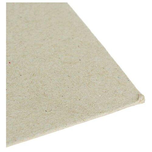 Картон переплетный набор 0.9 мм 30*40 см 540 г/м² 50л серый 5109981