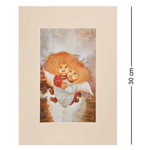 Жикле в паспарту Ангелы теплых чувств 21х29,7 ANG-1250 113-504947