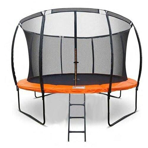 Фото - Каркасный батут DFC Trampoline Kengoo II 12FT-BAS-BO 366х366х265 см черный каркасный батут dfc trampoline kengoo ii 16ft bas bo оранжевый