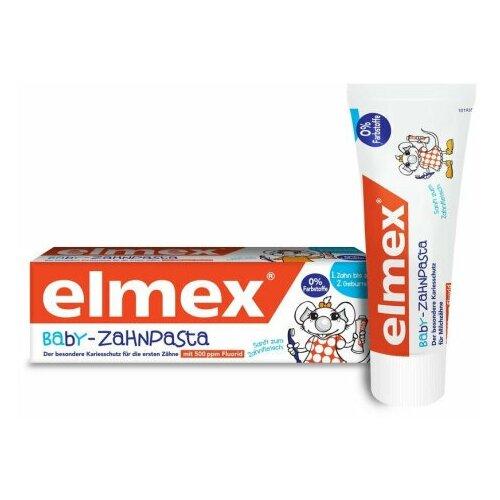 Зубная паста Elmex Baby-Zahnpasta (0-2 лет), 50 мл недорого