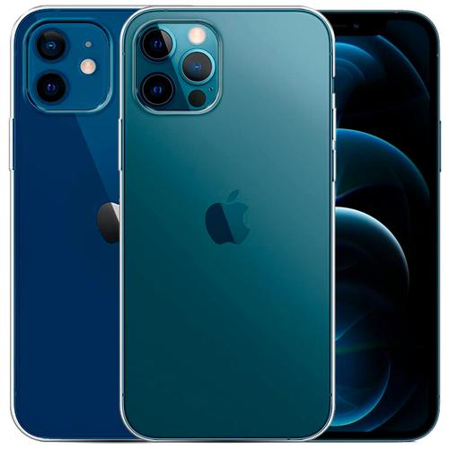 Чехол для iPhone 12 / iPhone 12 Pro силиконовый Liberty Project (Айфон 12 / Айфон 12 Про) Прозрачный