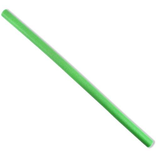 Нудл для плавания спортивный, палка для аквааэробики CLIFF, аквапалка, 150х6см, зеленый