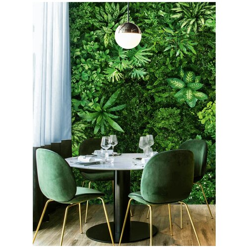 Фото - Фотообои / Пальмовые листья / 2 х 2,8 м (Ш х В) фотообои сказочный лес 3 х 2 8 м ш х в