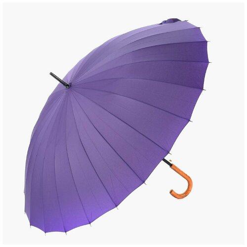 Зонт EuroClim трость 2824 24 спицы фиолетовый