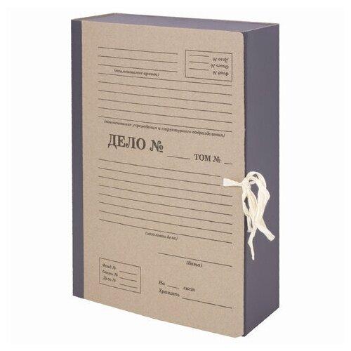 Папка с завязками картонная Staff