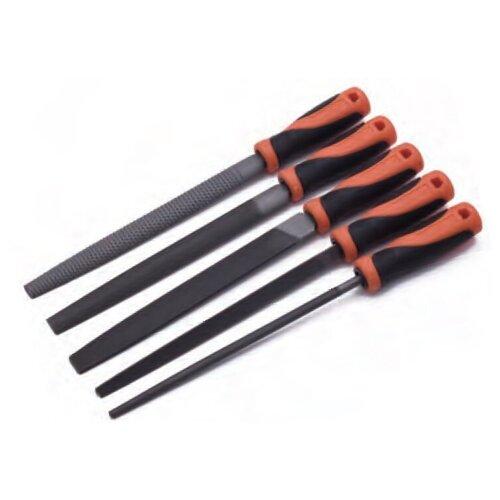 Набор профессинальных напильников 5 пр., сталь Т12 // HARDEN набор напильников по металлу 5 пр hobbi 40 1 005
