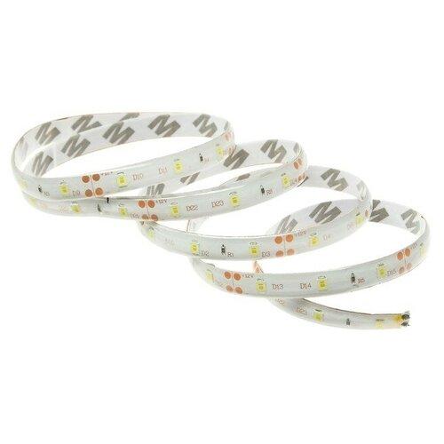 Светодиодная автомобильная лента 12 В, 54 LED, 90х0.8 см, IP68, свет белый 4643387