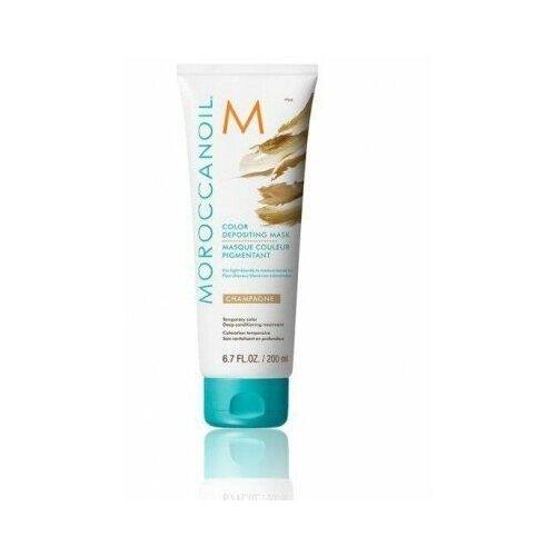 Купить Тонирующая маска для волос «color depositing mask» тон champagne 200 мл moroccanoil