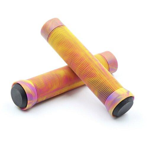 Грипсы LDR 145 мм красно-желто-фиолетовый