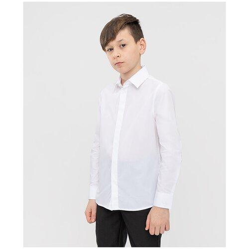 Рубашка Button Blue размер 122, белый