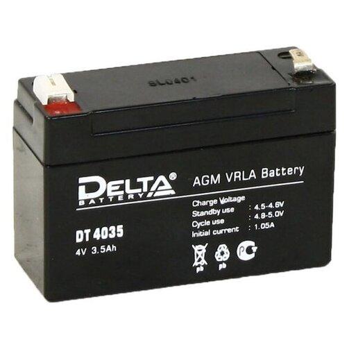 Аккумулятор для ИБП Delta DT-4035 4V 3.5Ah аккумулятор для ибп delta dt 4045 47 4v 4 5ah
