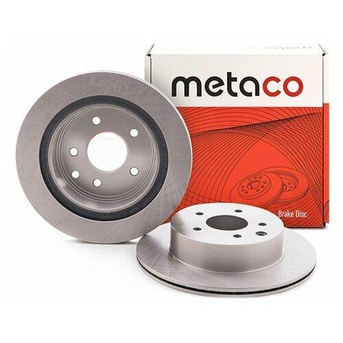 Диск тормозной задний (Производитель: METACO 3060009)