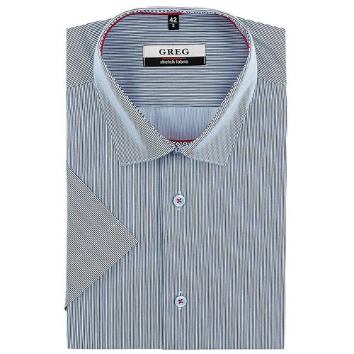 Рубашка GREG синий