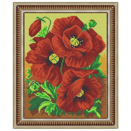 Купить Славяночка Вышивка бисером Красна краса 20x25 см (С-НКС-4002), Наборы для вышивания