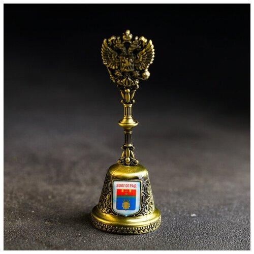 Колокольчик в форме герба «Волгоград» (Родина-мать), 11,8 х 4,2 см 4174837