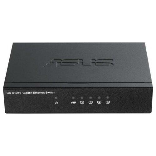 ASUS Коммутатор Asus GX-U1051 5G неуправляемый