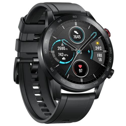Часы HUAWEI Honor Watch Magic 2 46 мм (silicone strap) Черный