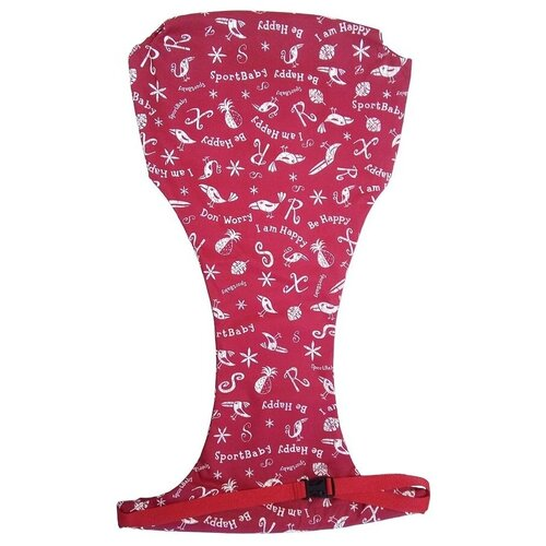 Спортбэби Страховка на стульчик Jumpino, красный