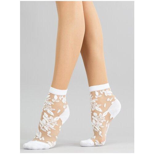 Фото - Носки Giulia WS2 CRYSTAL 051 размер 36-38, bianco (Белый) носки balaclava bs белый 36 38