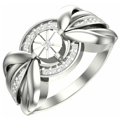 POKROVSKY Золотое кольцо с бриллиантами 1101210-02732, размер 17