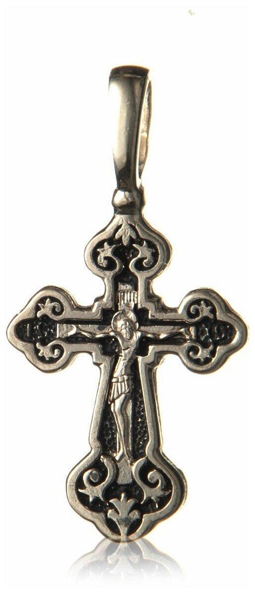 TOP CRYSTAL Крест с Распятием и Молитвой Спаси и Сохрани 11012147 — купить по выгодной цене на Яндекс.Маркете