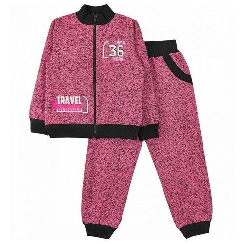 Спортивный костюм Юлала размер 104-110(60), розовый