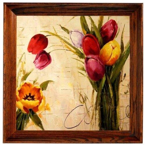 Купить Алмазная мозаика Поздравление, картина стразами Color KIT 40x40 см., Алмазная вышивка