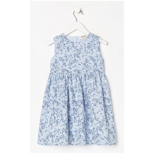 Фото - Сарафан Minaku размер 116, голубой блузка mek размер 116 голубой