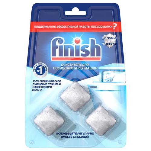 Чистящее средство для посудомоечных машин Finish Очиститель в Таблетках 3 шт