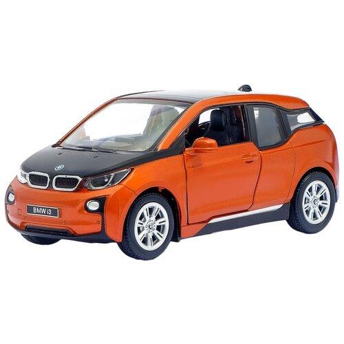 Машина Kinsmart BMW i3 (металлическая, инерционная) 1:32