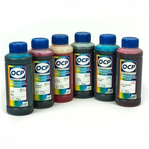 Фото - Чернила (краска) OCP для принтеров Epson InkJet Photo L800, L1800, L805, L810, L815, L850 100x6 чернила краска для заправки принтера epson l3050 набор мини