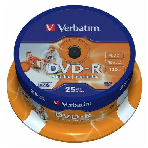 DVD-диск Verbatim DVD+R 4.7 Gb