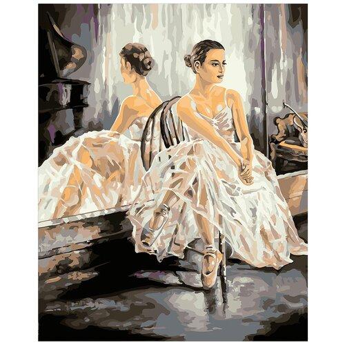 Фото - Картина по номерам ФРЕЯ Балерина 40х50 см картина по номерам фрея нотр дам огненный закат 40х50 см