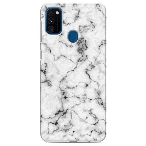 Дизайнерский пластиковый чехол для Samsung Galaxy M30s Мраморные тренды