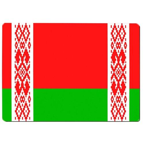Коврик для мыши Флаг Белоруссии