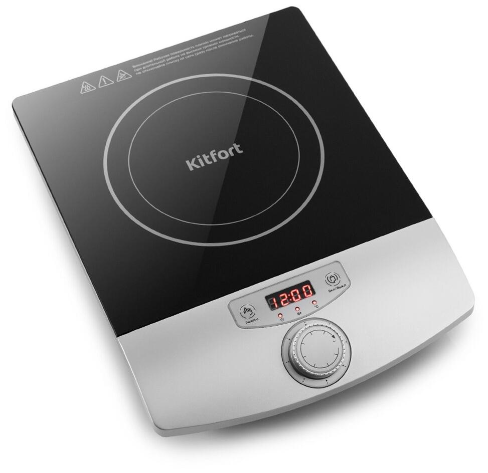 Стоит ли покупать Индукционная плитка Kitfort КТ-119? Отзывы на Яндекс.Маркете