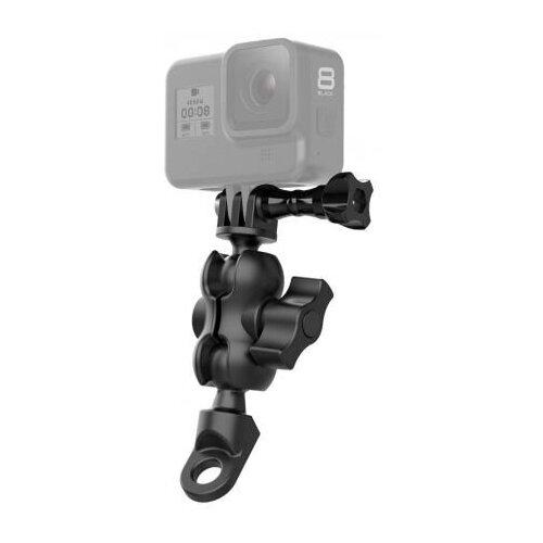 Крепление Telesin под зеркало мотоцикла (резьба М10) для экшн-камер GoPro, DJI Osmo Action