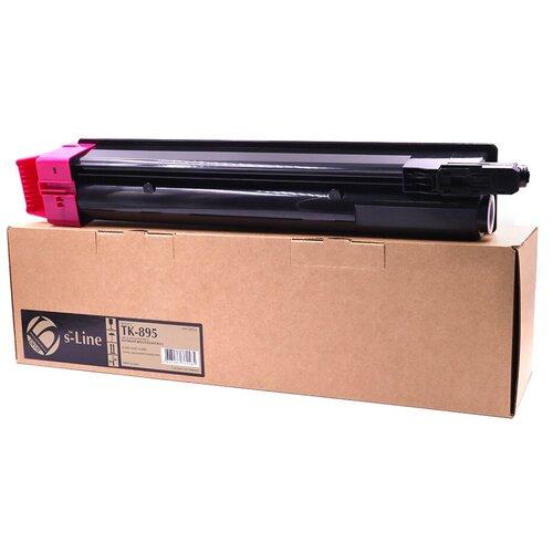 Фото - Тонер-картридж булат s-Line TK-895M для Kyocera FS-C8020 (Пурпурный, 6000 стр.) тонер картридж булат s line tk 475 для kyocera fs 6025mfp чёрный 15000 стр