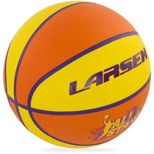 Мяч баскетбольный Larsen All Stars баскетбольный мяч larsen pu6 р 6